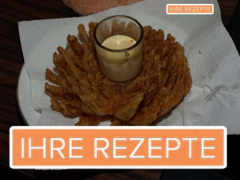 Bloomin Onion – Frittierte Zwiebelblume