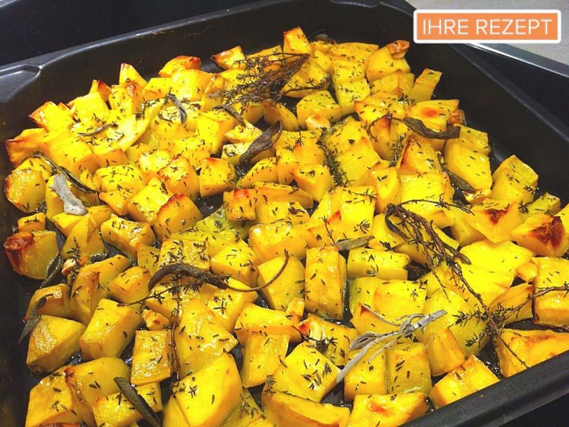 Ofen- oder Grillkartoffeln italienische Art