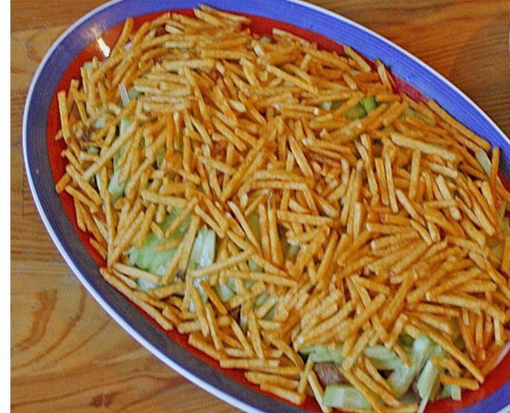 Gyros Schichtsalat – Sehr leckerer Salat